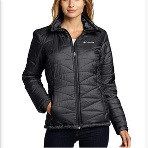 Columbia XL black Mighty Lite insulated jacket